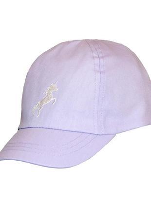 Фиолетовая кепка для девочки, george, 30646