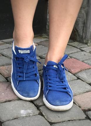 Puma синие кеды