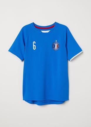 Футбольная футболка h&m