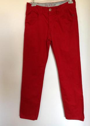 Темно красные мужские немецкие брюки. /31-32/ brend esprit