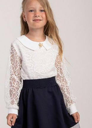 Блузка в наличии школьная