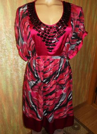 Платье betty jackson. black debenhams индия р. 12 евро 40 камни стразы