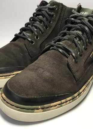Мужские осенне-весенние демисезонные мембранные ботинки geox