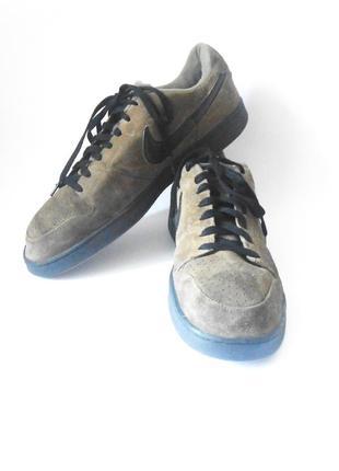 Замшевые мужские кроссовки nike, р.48 код m4831