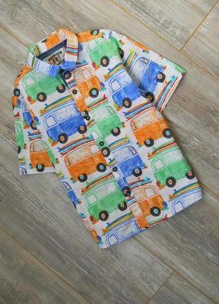 Легендарная рубашка на 4-5 лет от некст