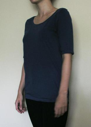 Ярко-синяя футболка esprit