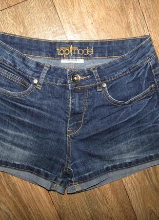 Джинсовые шорты р-р 36-38 бренд yessica