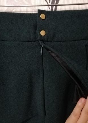 🌿шикарная юбка по фигуре с баской4 фото