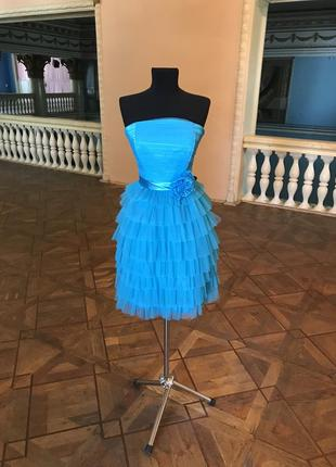 Коктейльное платье выпускное/ вечернее