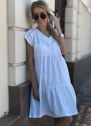 Платье с кружевом свободного кроя платье футболка