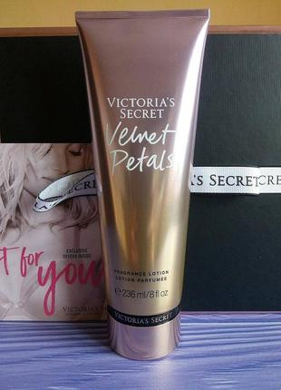 Парфюмированный лосьон victoria's secret velvet petals