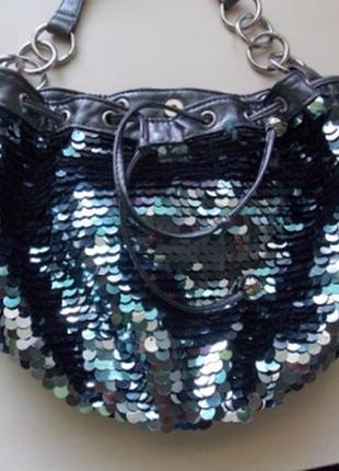 Фирменная вечерняя,гламурная сумочка next.8 фото