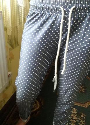 Летние штаны укороченные