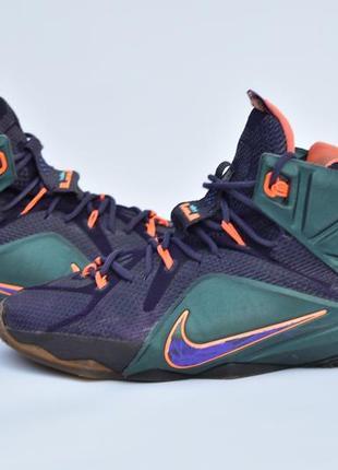 Nike lebron 12 оригинал! мужские баскетбольные кроссовки размер 46
