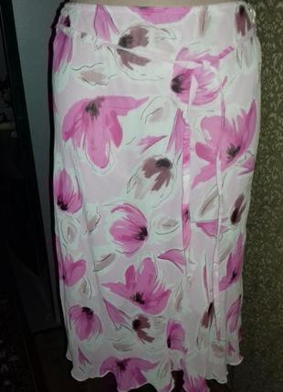 Легкая юбка летней расцветки