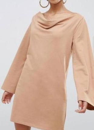 Новое платье-свитшот asos