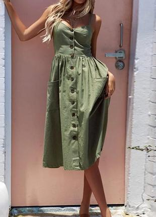 Летнее платье винтаж