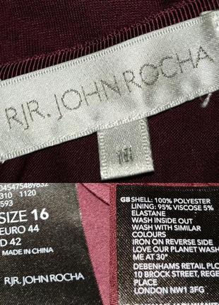 Блуза красивая двухслойная в цветы uk 16/44/xl7 фото