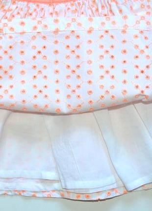Early days. нарядное платье из ткани вышитой в стиле ришелье. 6-9 мес. рост 74 см5 фото