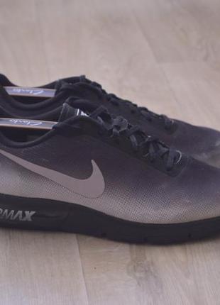 Nike air max мужские кроссовки сетка оригинал весна лето