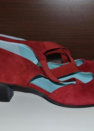 Thierry rabotin 38.5р туфли балетки кожаные. оригинал. италия.