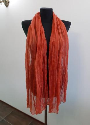 Новый шарф италия лен