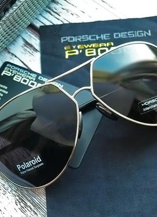 Мужские солнцезащитные очки porsche design авиатор