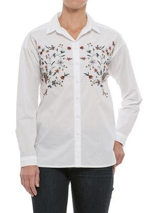 Рубашка с вышивкой beach lunch lounge, р. m
