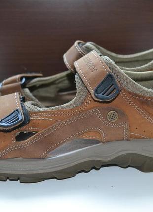 Galapagos 41р сандалии кожаные, мужские