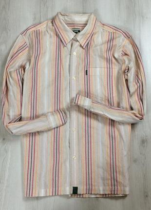 Xl-xxl мужская рубашка paul smith jeans пол смит яркая