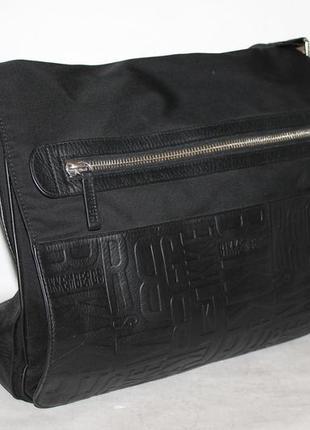 Мужская оригинальная сумка мессенджер от dirk bikkembergs