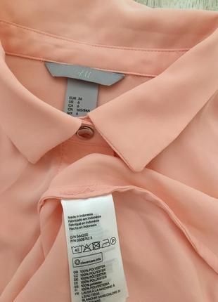 H&m блузка рубашка , 36 и 387 фото