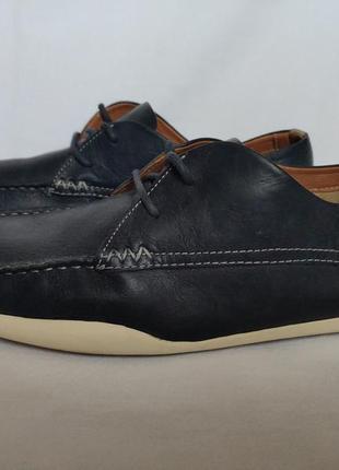 Туфли clarks (мокасины). размер 44