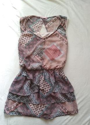 Летнее платье, сарафан. bershka