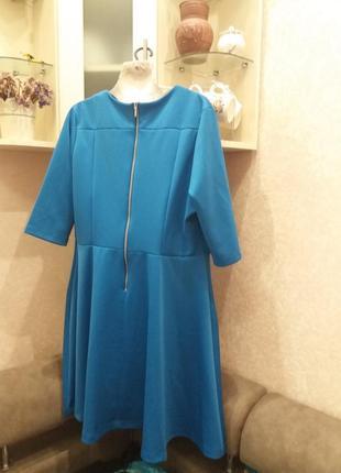 Яркое платье-16\18h  ю132 фото