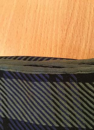 Платок швейцарского бренда шелк christian fischbacher6 фото