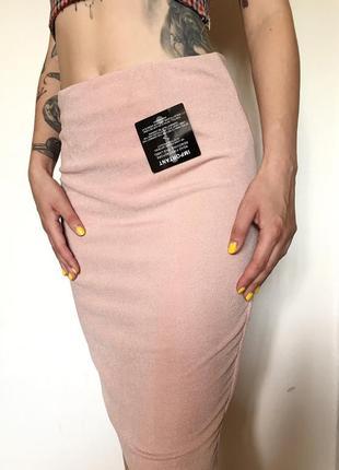 Миди юбка с блестками
