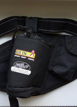 Бананка, поясная сумка для бегунов, ведосипедистов, спортсменов, альпинистов. kunz sport.