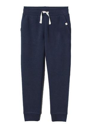 Темно-синие джогеры на байке для девочки, h&m, 0712104001