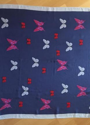 Платок бабочки hanae mori4 фото