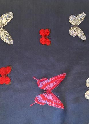 Платок бабочки hanae mori1 фото