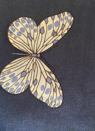 Платок бабочки hanae mori7 фото