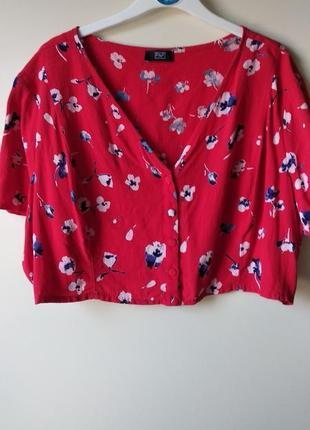 Кроп топ блуза от f&f