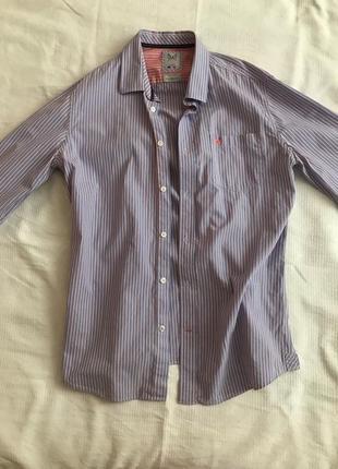 Рубашка в полоску crew clothing