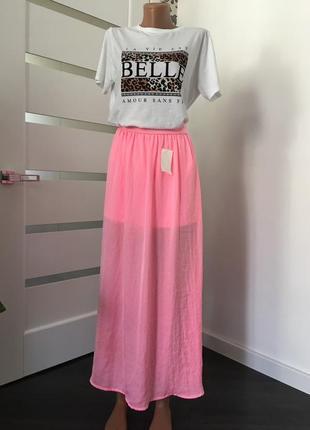 Kiabi   яркая летняя юбка