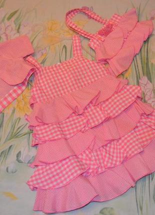 Шикарный наряд на девочку платье болеро сумочка