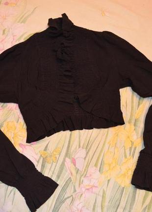 Школьный пиджак болеро