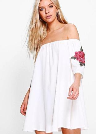 Летняя платье сарафан свободного кроя
