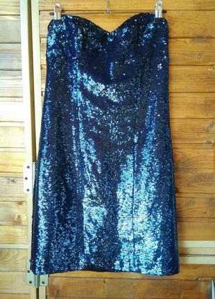 Нереально класна сукня міні в паєтки