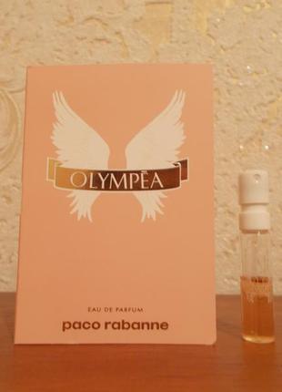 Пробник духов парфюма paco rabanne olympea